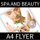 Spa and Beauty A4 Flyer - GraphicRiver Item for Sale