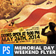 Memorial Day Flyer - We will Never Forget - GraphicRiver Item for Sale