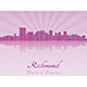 Richmond Skyline - GraphicRiver Item for Sale
