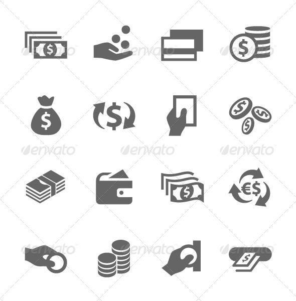 GraphicRiver Money Icons Set 7630673