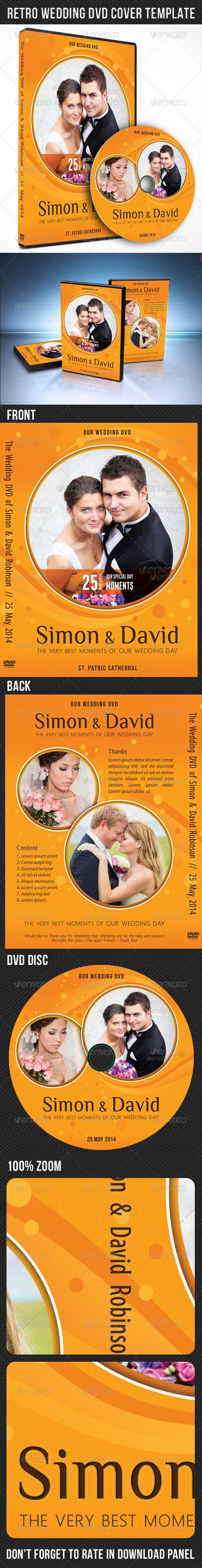 GraphicRiver Wedding DVD Cover Template 03 7631704