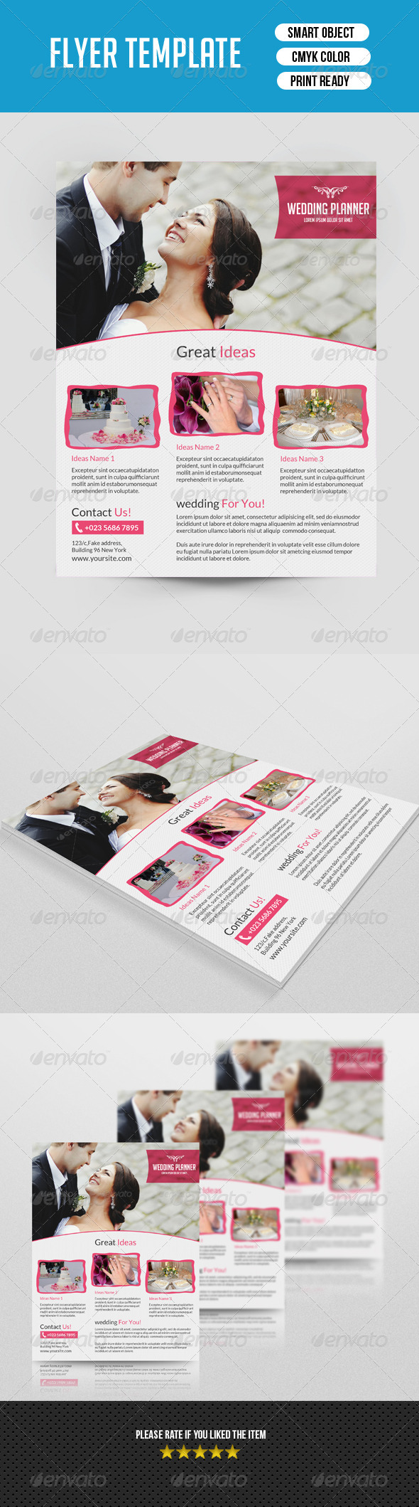 GraphicRiver Wedding Planner 7634541