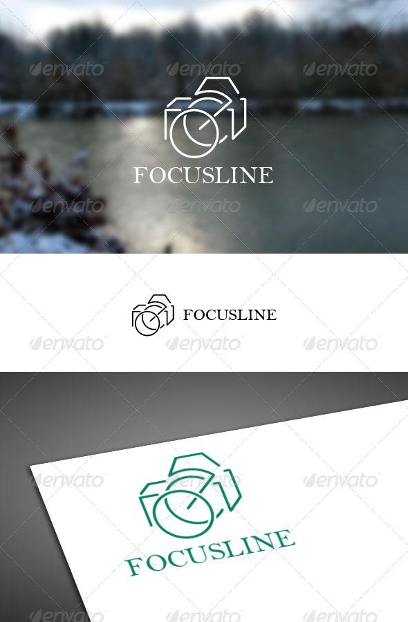 GraphicRiver Focusline Logo Template 7634640
