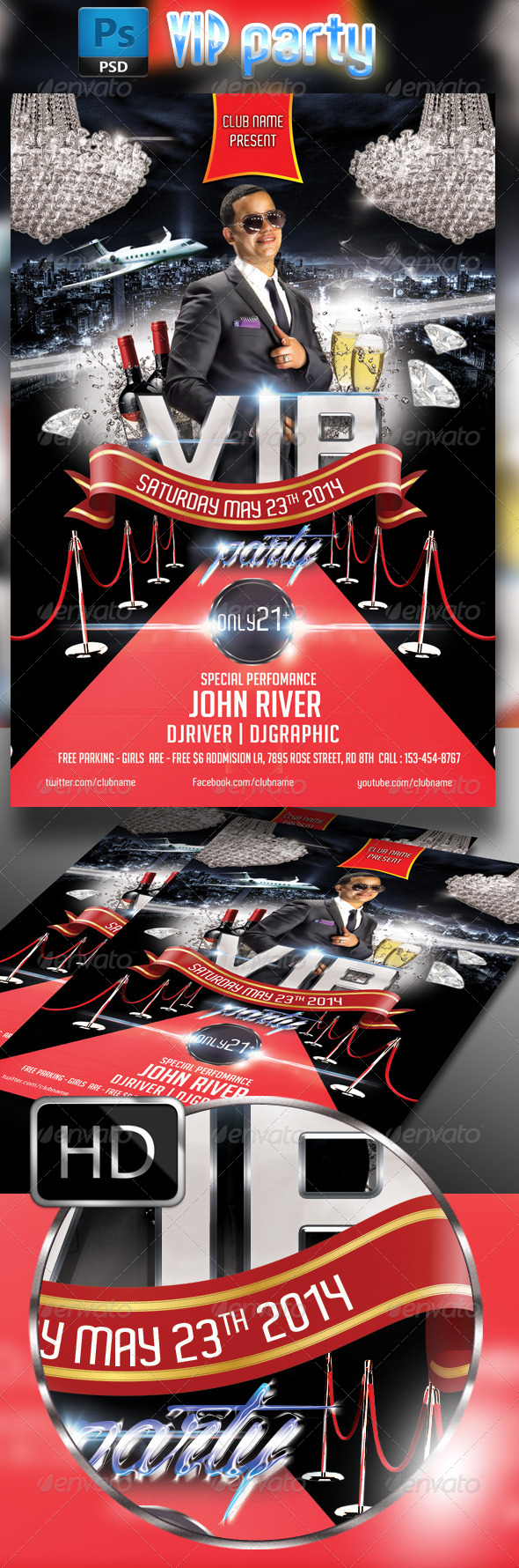 GraphicRiver VIP party 7618055