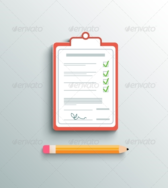 GraphicRiver Delivery Signature Clipboard 7636516