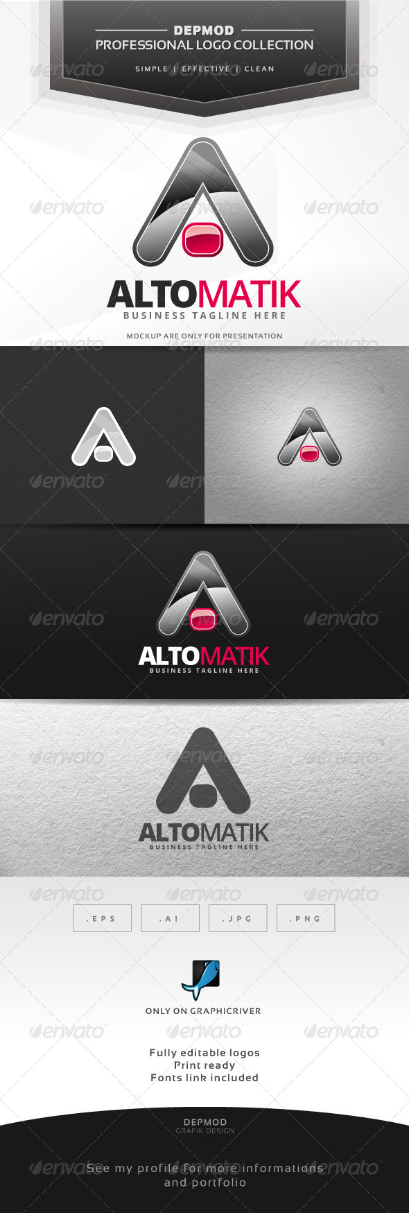 GraphicRiver Altomatik Logo 7637399