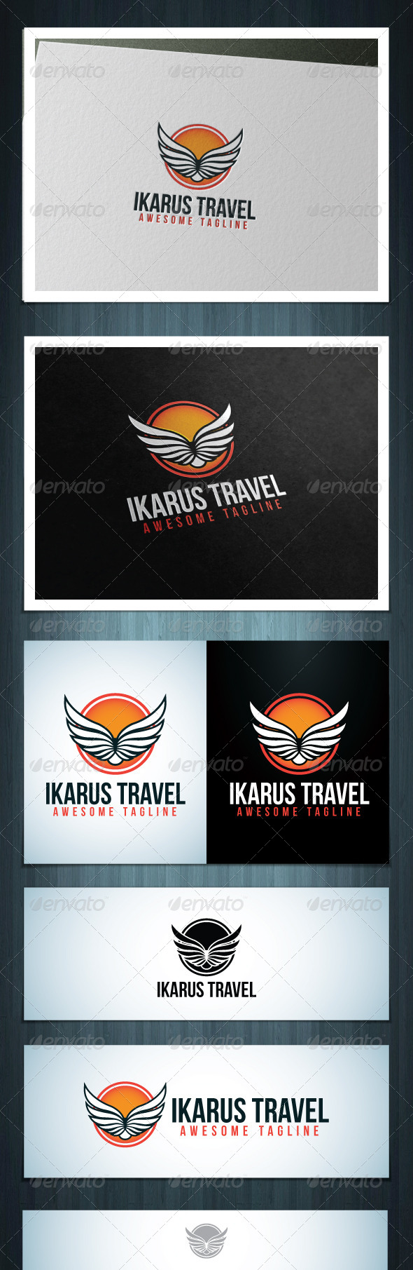 GraphicRiver Ikarus Travel 7638432