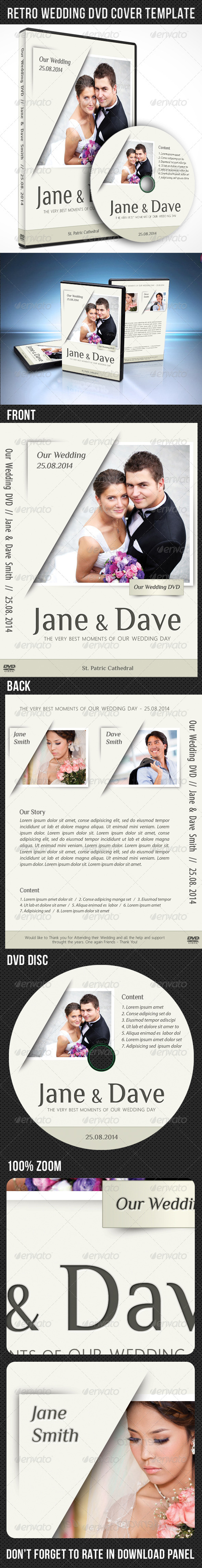 GraphicRiver Wedding DVD Cover Template 04 7638706