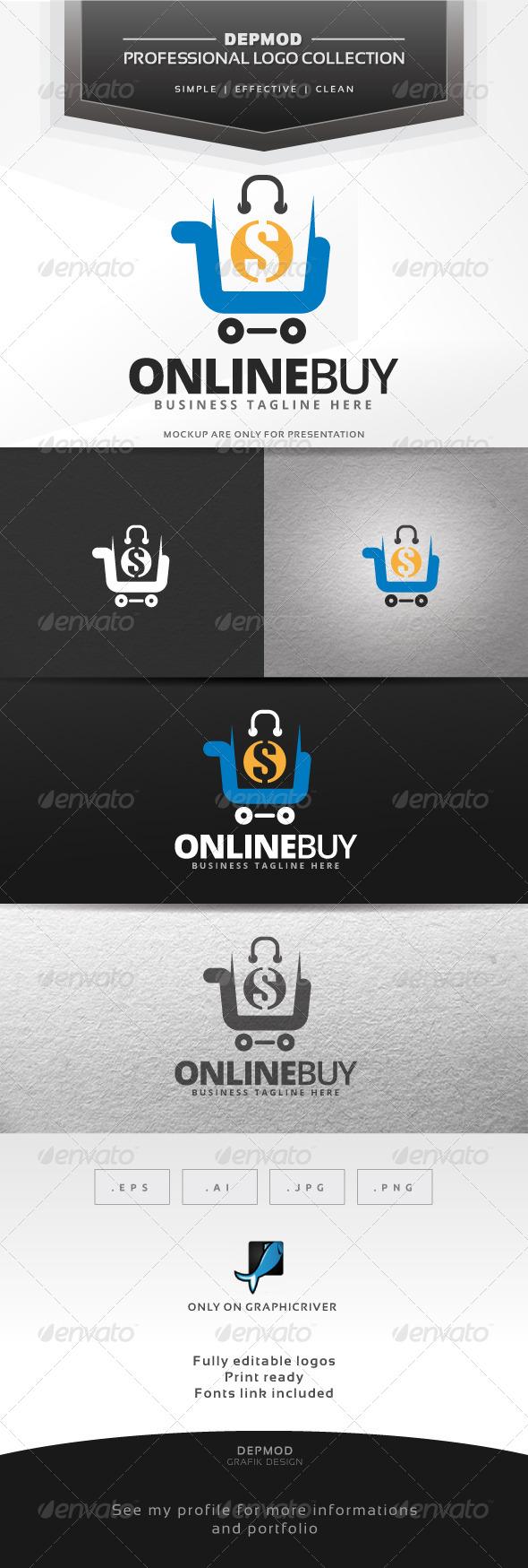 GraphicRiver Online Buy V.02 Logo 7639320