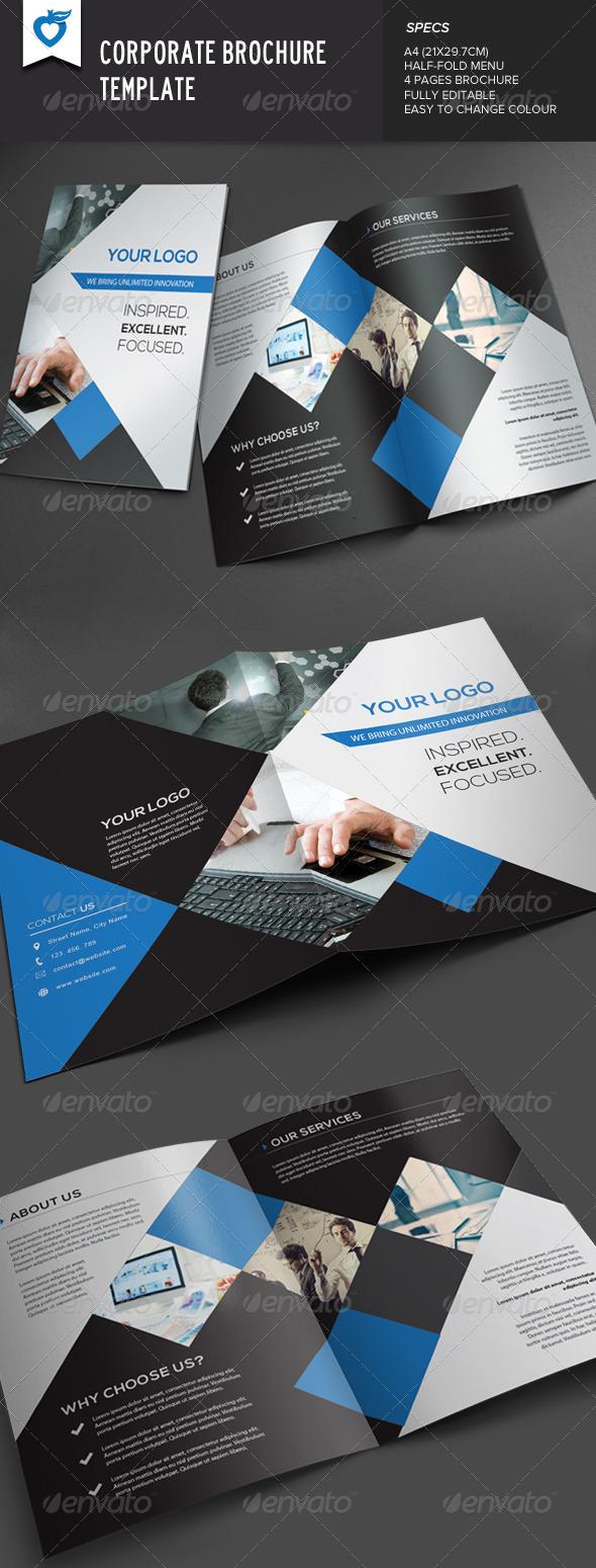 GraphicRiver Corporate Brochure 7624987