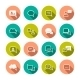 Chat Bubbles Icons - GraphicRiver Item for Sale