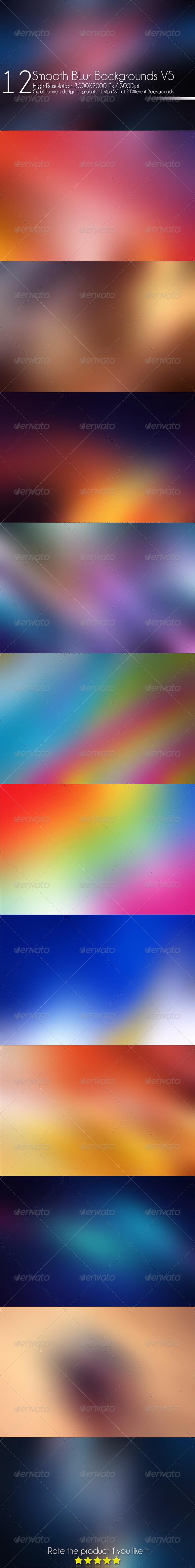GraphicRiver 12 Smooth Blur Background V5 7640623