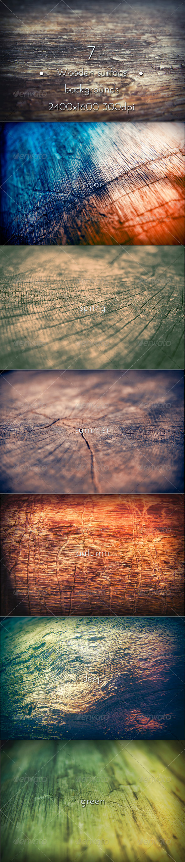 GraphicRiver Wooden Surface Background 7640733