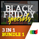 3 in 1 Multipurpose Black Friday Bundle 1 - GraphicRiver Item for Sale