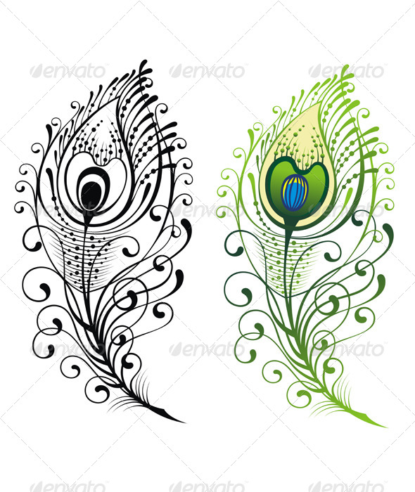 GraphicRiver Feathers 7642474