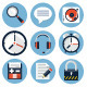 Web Flat Icons - GraphicRiver Item for Sale