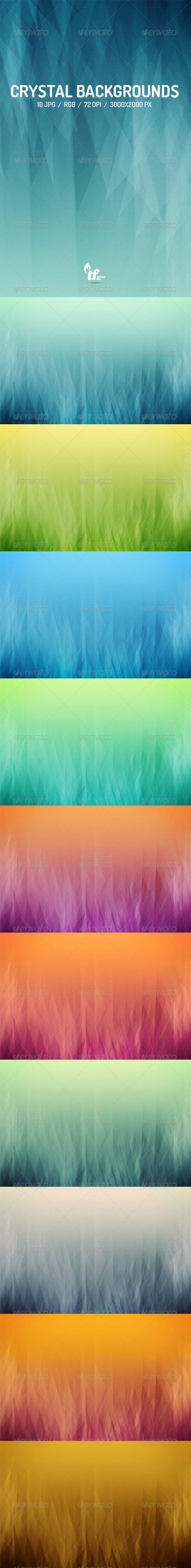 GraphicRiver Crystal Backgrounds 7642913
