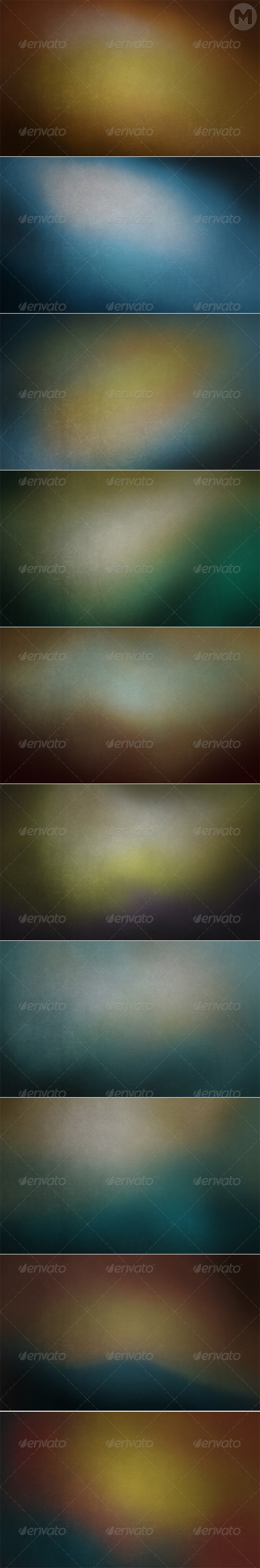 GraphicRiver Grunge Blurred Backgrounds 7643250