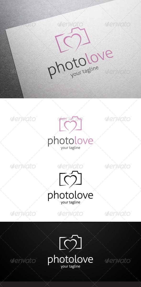 GraphicRiver Photo Love Logo 7643712