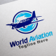 World Aviation Logo Templates - GraphicRiver Item for Sale