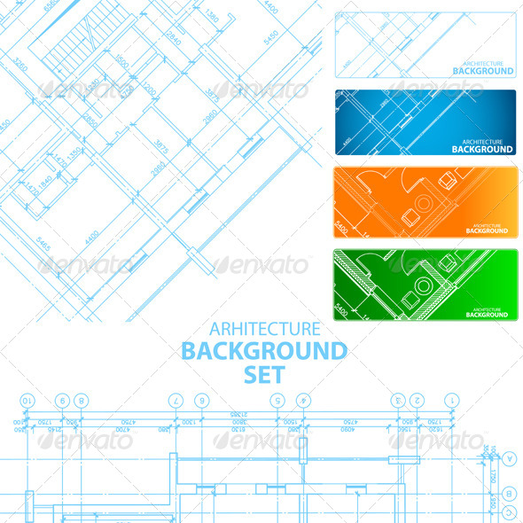 GraphicRiver Architecture Backgrounds 7643926