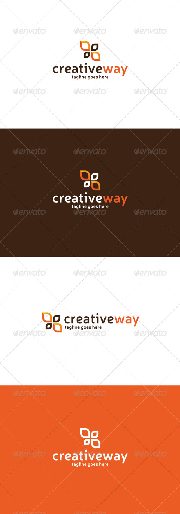 GraphicRiver Creative Way Logo 7643979
