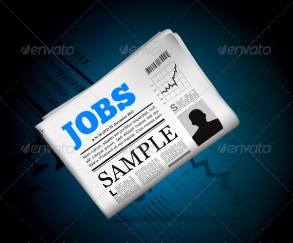 GraphicRiver Jobs in Newspaper 7644093