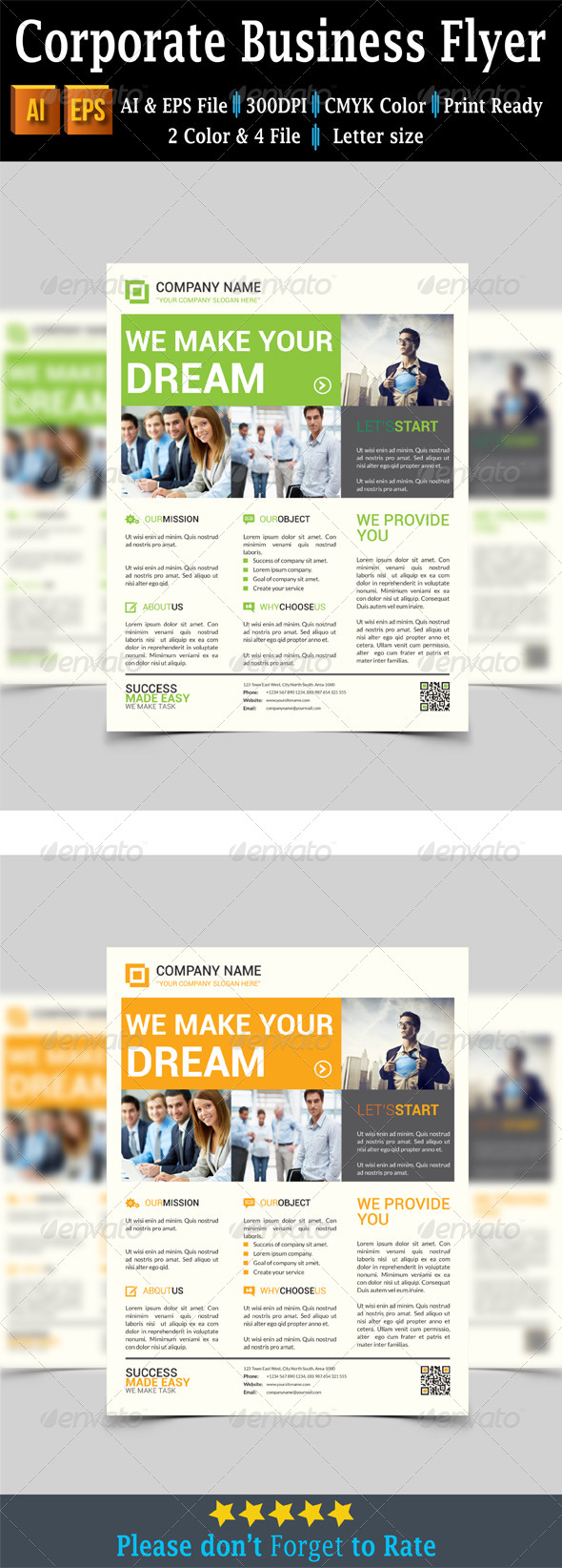 GraphicRiver Corporate Business Flyer 7646208