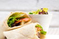 kafta shawarma chicken pita wrap roll sandwich - PhotoDune Item for Sale