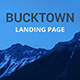 Bucktown - Landing Page - ThemeForest Item for Sale
