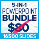 5-in-1 Powerpoint Presentation Bundle - GraphicRiver Item for Sale