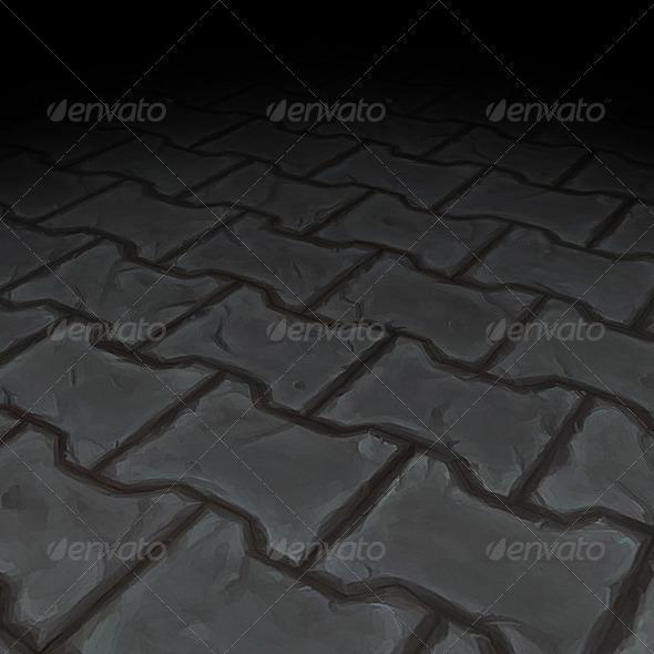 3DOcean Stone Floor Texture Tile 08 7647834