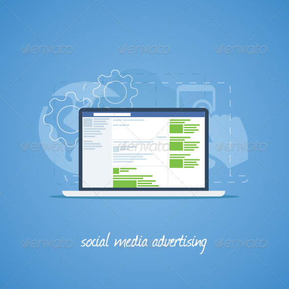 GraphicRiver Social Media Advertising Concept 7648987