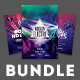 Electro Party Flyer Bundle Vol.5 - GraphicRiver Item for Sale