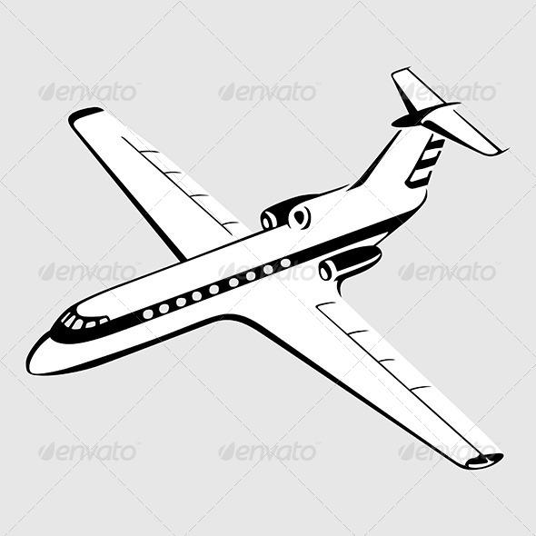 GraphicRiver Airplane 7649504
