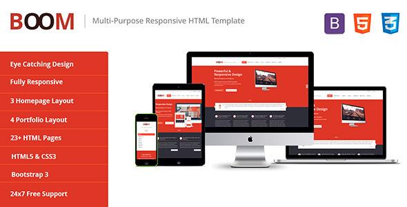 BOOM - Multi-Purpose Responsive HTML Template