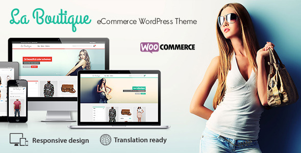 ThemeForest La Boutique Multi-purpose WooCommerce Theme 7438097