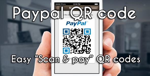 CodeCanyon Paypal QR generator 7650456