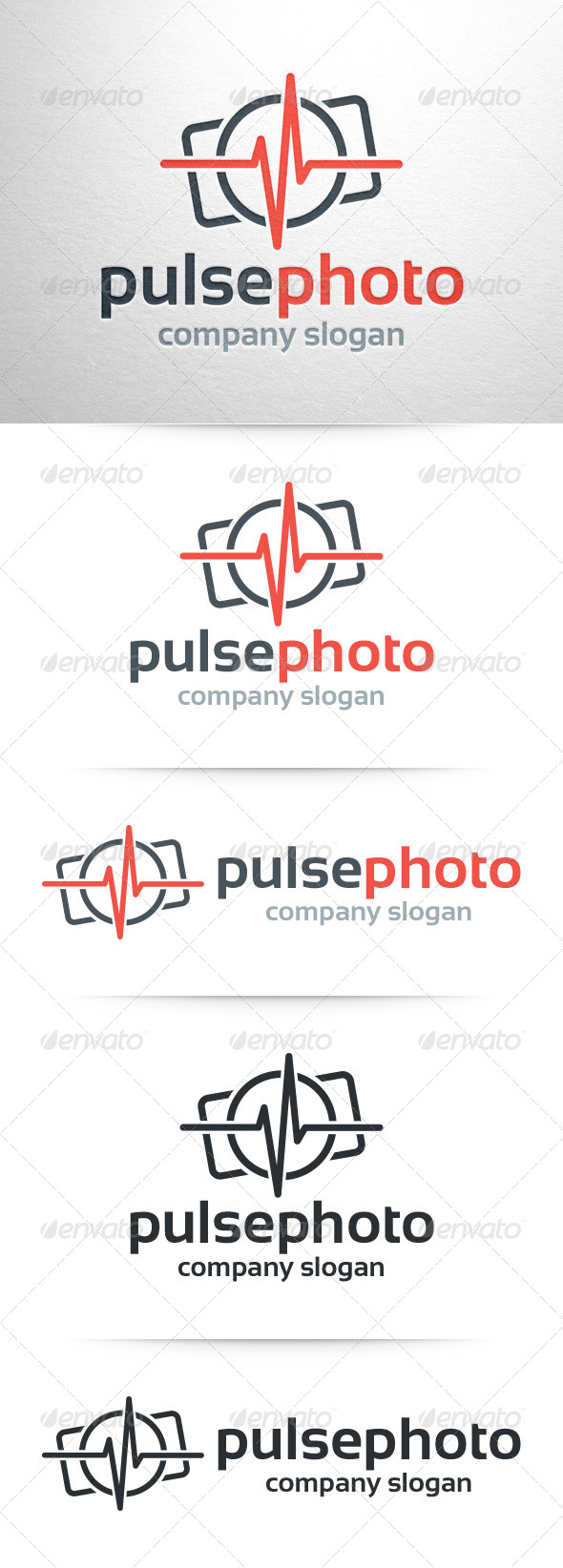 GraphicRiver Pulse Photography Logo 7650485