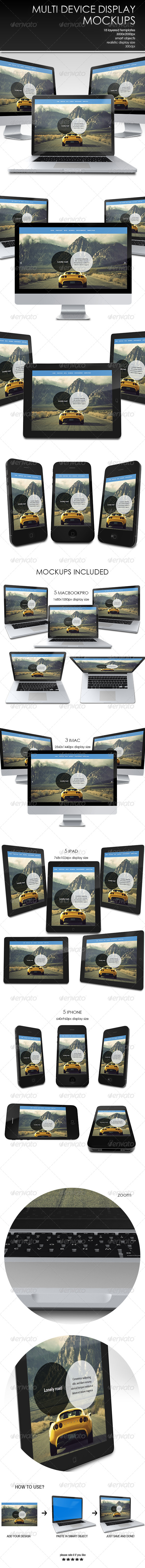 GraphicRiver Multi Display Mockup 7650599