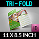 Fitness - GYM Brochure Tri-Fold Template Vol.2 - GraphicRiver Item for Sale
