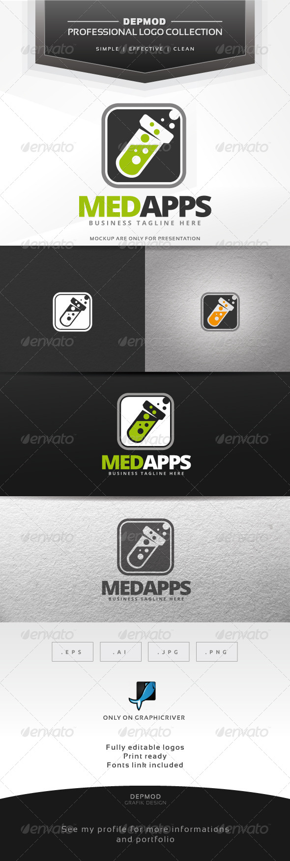 GraphicRiver Med Apps 7651493