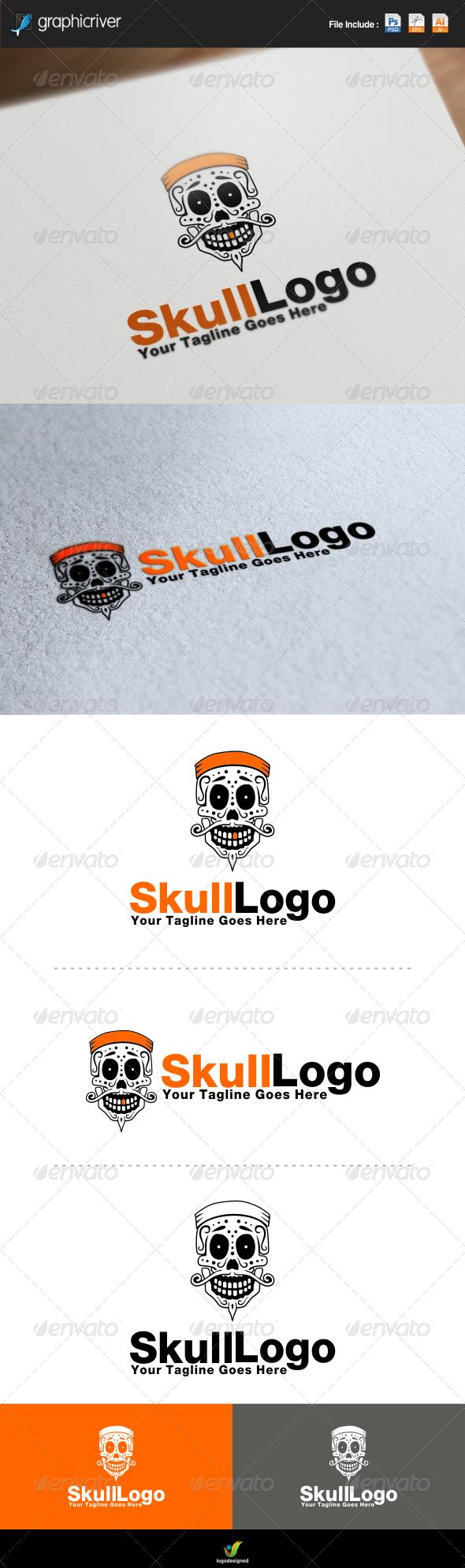 GraphicRiver Skull Logo 7652266