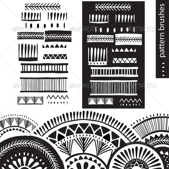 GraphicRiver Pattern Brushes 7652615
