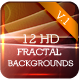 12HD Fractal Backgrounds V1 - GraphicRiver Item for Sale