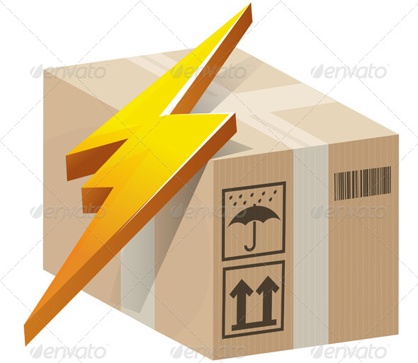 GraphicRiver Lightning Fast Consignment Delivery 7653641