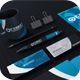 Modern Blue Corporate Identity - GraphicRiver Item for Sale
