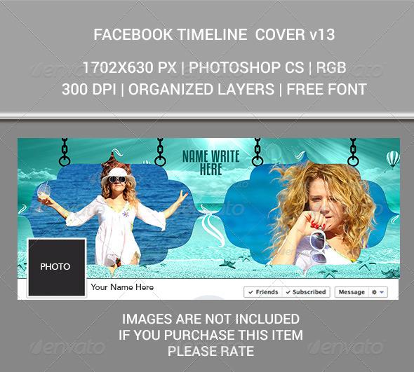 GraphicRiver Facebook Timeline v13 7655936