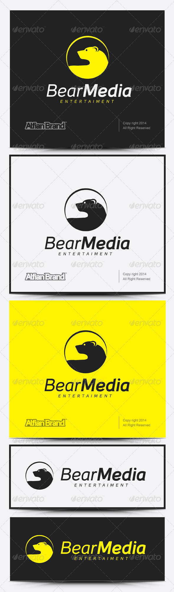 GraphicRiver Bear Media Logo 7591758