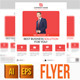 Flat Corporate Flyer - GraphicRiver Item for Sale